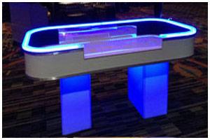 Atlanta casino LED table photo
