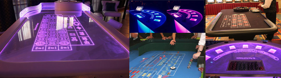 Casino Led Tables